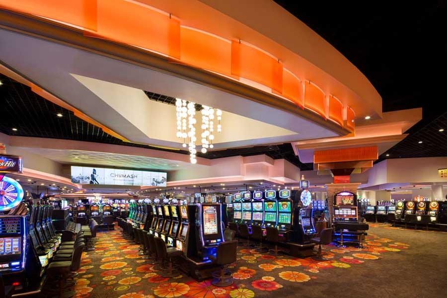 Chumash Casino Gaming Floor
